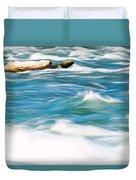 Painted Niagara Duvet Cover