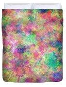 Painted Pixels Duvet Cover
