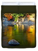 Painted River Duvet Cover
