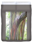 Painted Tree Duvet Cover