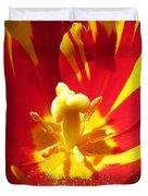 Painted Tulip Duvet Cover