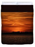 Painting In The Sky Duvet Cover