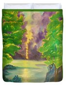Paintings By Lyle Duvet Cover