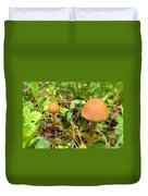 Pair O Mushrooms Duvet Cover
