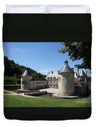 Palace Bussy - Rabutin - Burgundy Duvet Cover