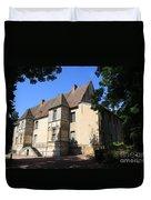 Palace Of Abbot Jacques D'amboise Duvet Cover