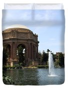 Palace Of Fine Arts And Lagoon Duvet Cover