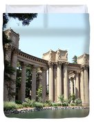 Palace Of Fine Arts Colonnades  Duvet Cover