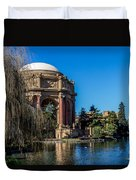 Palace Of Fine Arts In Color Duvet Cover