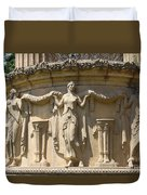 Palace Of Fine Arts Relief San Francisco Duvet Cover