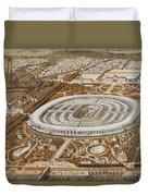 Palace Of The Universal Exhibition In Paris Duvet Cover