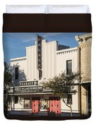 Palace Theater --- Georgetown Texas  Duvet Cover