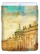 Palaces And Parks Of Potsdam And Berlin Duvet Cover by Catf