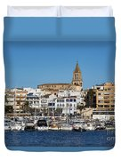 Palamos Spain Duvet Cover