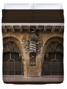 Palau Guell 1886 To 88 Gaudi Barcelona Spain Dsc01413 Duvet Cover