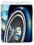 Pale Blue Rider Duvet Cover