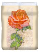 Pale Rose Duvet Cover by George Adamson