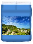 Palenque View Duvet Cover