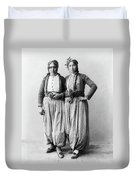 Palestine Gypsies, 1893 Duvet Cover