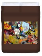 Palette Abstract Duvet Cover