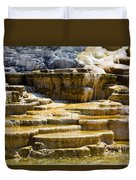 Palette Spring 2 Yellowstone National Park Wy Duvet Cover