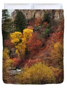 Palisades Creek Canyon Duvet Cover