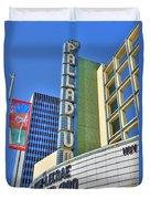 Palladium Hollywood Ca World-class Entertainment Duvet Cover