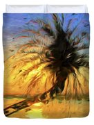 Palm Beauty Duvet Cover