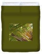 Palm Blossoms Duvet Cover