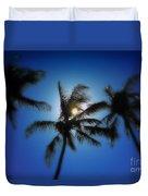 Palm Breeze Duvet Cover