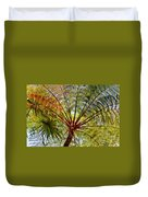 Palm Canopy Duvet Cover