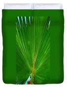 Palm Closeup Duvet Cover