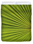 Palm Fron Abstract Duvet Cover