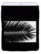 Palm Frond Duvet Cover