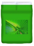 Palm Frond Work A Duvet Cover