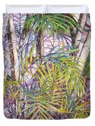 Palm Grove Duvet Cover