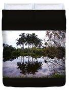 Palm Island I Duvet Cover