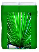 Palm Leaf 6687 Duvet Cover
