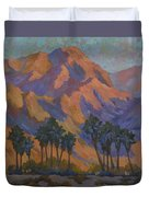 Palm Oasis At La Quinta Cove Duvet Cover