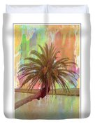 Palm On The Loop Duvet Cover
