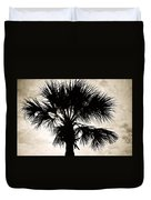 Palm Sihlouette Duvet Cover