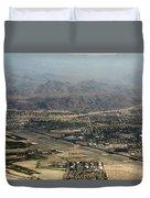 Palm Springs International Airport Duvet Cover