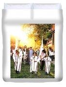 Palm Sunday - Mexico Duvet Cover
