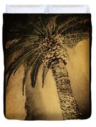 Palm Tree At The Aladdin Casino Duvet Cover