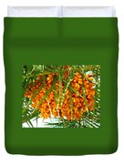 Palm Tree Fruit 1 Duvet Cover