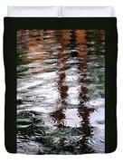 Palm Tree Reflection 29410 Duvet Cover