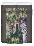 Palm Tree Scenery Duvet Cover