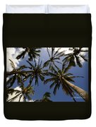 Palm Trees 3 Duvet Cover