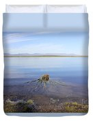 Palm Water Duvet Cover