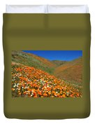 Palmdale Poppies Duvet Cover